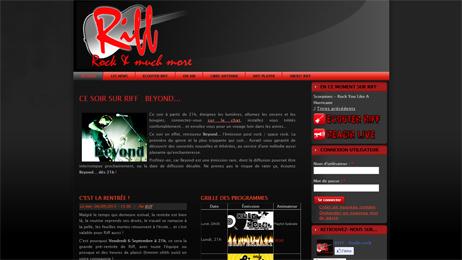 Site de la radio Riff
